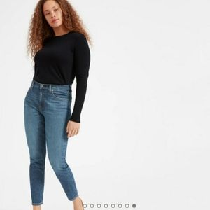 LN W Everlane High Rise Slim Ankle Jeans Size 27